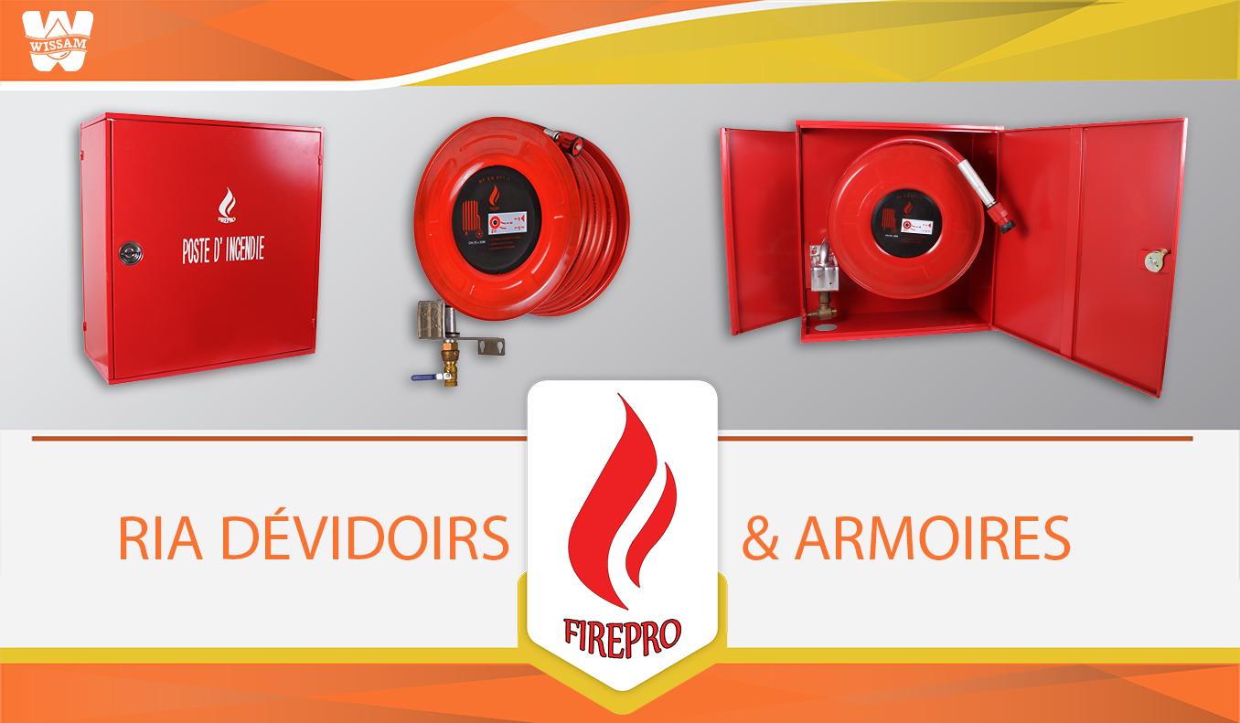 RIA Firepro Anti incendie